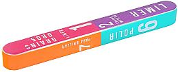Parfüm, Parfüméria, kozmetikum Buffer körömre 7 oldalas csiszolással 178x22x16mm - Tools For Beauty 7-way Nail Buffer Block