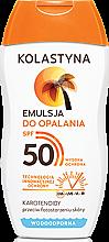 Parfüm, Parfüméria, kozmetikum Napvédő emulzió SPF50 - Kolastyna