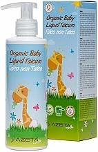 Parfüm, Parfüméria, kozmetikum Organikus baba krém folyékony talkummal - Azeta Bio Organic Baby Liquid Talcum