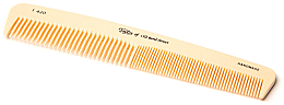 Parfüm, Parfüméria, kozmetikum Fésű, 18 cm, elefántcsont színű - Taylor of Old Bond Street Imitation Ivory Comb