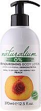 """Parfüm, Parfüméria, kozmetikum Tápláló testápoló lotion """"Őszibarack"""" - Naturalium Body Lotion Peach"""