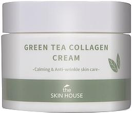 Parfüm, Parfüméria, kozmetikum Nyugtató krém kollagénnel és zöld tea kivonattal - The Skin House Green Tea Collagen Cream