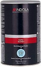 Parfüm, Parfüméria, kozmetikum Kék világosító por - Indola Profession Rapid Blond+ Blue Dust-Free Powder