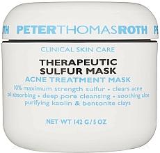 Parfüm, Parfüméria, kozmetikum Kén tartalmú pattanás elleni terápiás maszk - Peter Thomas Roth Sulfur Therapeutic Sulfur Mask