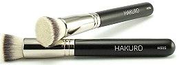 """Parfüm, Parfüméria, kozmetikum Alapozó ecset """"H50S"""" - Hakuro"""