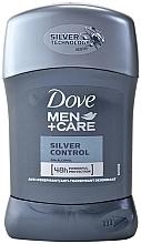 "Parfüm, Parfüméria, kozmetikum Deo stift ""Silver control"" - Dove Men+ Care Silver Control Antyperspirant Stick"