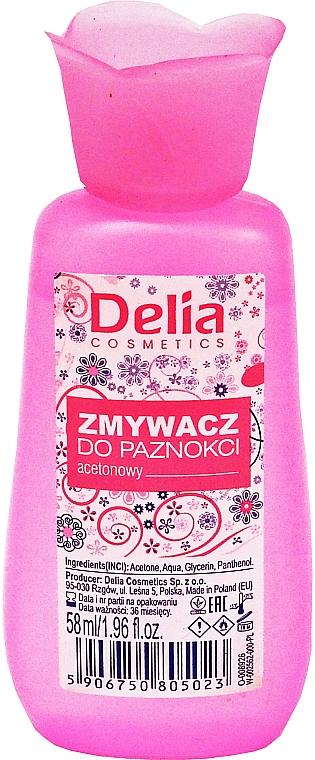 Körömlakklemosó - Delia No1 Nail Polish Remover
