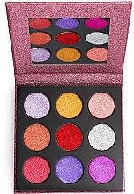 Parfüm, Parfüméria, kozmetikum Smink paletta - Makeup Revolution Pressed Glitter Palette Diva