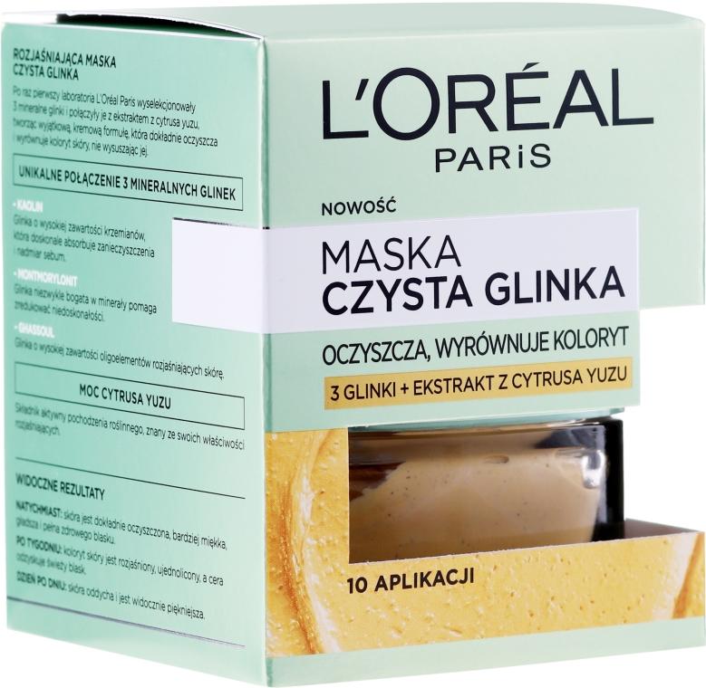 """Arcmaszk """"Agyag és citrom"""" - L'Oreal Paris Skin Expert Mask"""