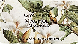 "Parfüm, Parfüméria, kozmetikum Természetes szappan ""Magnólia"" - Florinda Sapone Vegetale Magnolia"