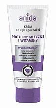 Parfüm, Parfüméria, kozmetikum Kéz- és körömápoló krém - Anida Pharmacy Milk Hand Cream