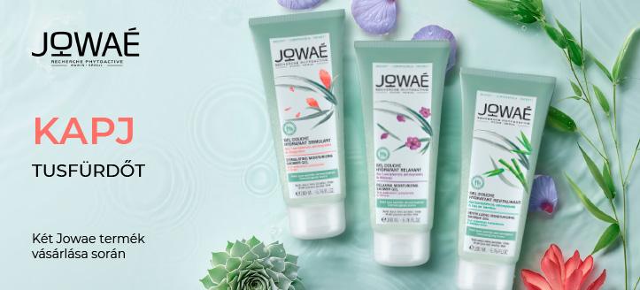 Két Jowae termék vásárlása során kapj ajándék tusfürdőt