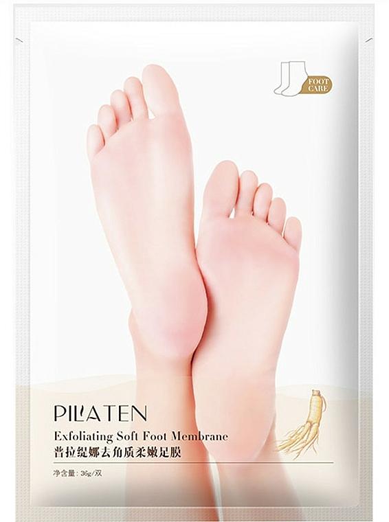 Bőrhámlasztó lábmaszk - Pilaten Exfoliating Soft Foot