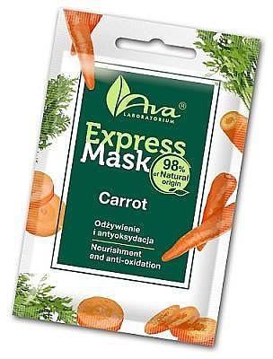 Arcmaszk sárgarépa kivonattal - Ava Laboratorium Beauty Express Mask Carrot