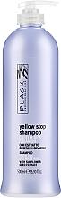 Parfüm, Parfüméria, kozmetikum Sárgulás elleni sampon ősz, szőkített hajra - Black Professional Line Yellow Stop Shampoo