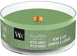 Parfüm, Parfüméria, kozmetikum Illatosított gyertya pohárban - WoodWick Petite Candle Hemp And Ivy