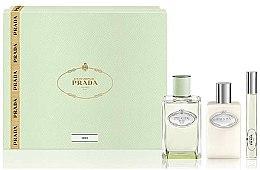 Parfüm, Parfüméria, kozmetikum Prada Infusion D'Iris - Szett (edp/100ml + + b/lot/100ml + edp/mini/10ml)