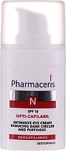Parfüm, Parfüméria, kozmetikum Szem alatti duzzanatot és karikát csökkentő intenzív krém - Pharmaceris N Opti-Capilaril Intensive Eye Cream Reducing Dark Circles and Puffiness
