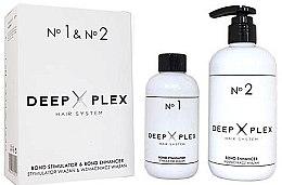 Parfüm, Parfüméria, kozmetikum Hajvédő és regeneráló készlet - Stapiz Deep Plex System No.1 & No.2 Set (hair/emulsion/150ml+hair/emulsion/290ml)
