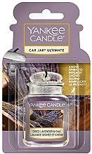 Parfüm, Parfüméria, kozmetikum Autóillatosító - Yankee Candle Car Jar Ultimate Dried Lavender & Oak