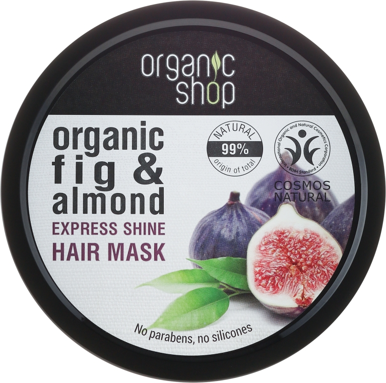 """Görög füge"" hajmaszk - Organic Shop Organic Fig Tree and Almond Hair Mask"