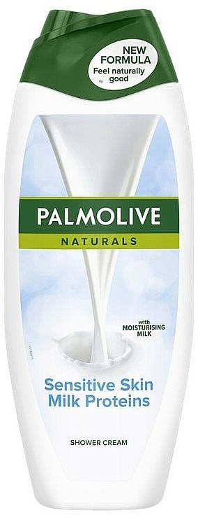 Krém-gél tusfürdő proteinnel - Palmolive Naturals Delicate Skin Milk Protein Cream