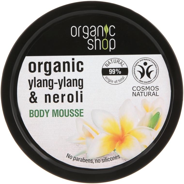 """Testhab """"Frangipani"""" - Organic Shop Organic Ylang-Ylang & Neroli Body Mousse"""