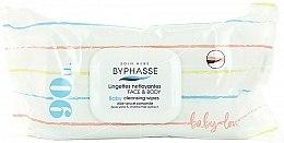 Parfüm, Parfüméria, kozmetikum Gyerek nedves törlőkendő, 90 db. - Byphasse Baby Cleansing Wipes Face and Body