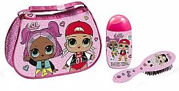 Parfüm, Parfüméria, kozmetikum Air-Val International LOL Surprise - Szett (shmp/120ml + brush + bag)
