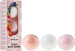 Parfüm, Parfüméria, kozmetikum Habzó fürdőbomba - Delia Dairy Fun Milky Bath Balls