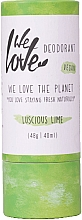 Parfüm, Parfüméria, kozmetikum Natúr krémdezodor - We Love The Planet Deodorant Luscious Lime