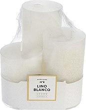 Parfüm, Parfüméria, kozmetikum Illatosított gyertya szett - Artman Glass Classic Perfume №8 Lino Blanco Candle (candle/3pc)