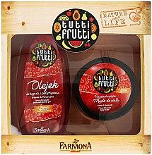 """Parfüm, Parfüméria, kozmetikum Szett """"Meggy és ribizli"""" - Farmona Tutti Frutti (oil/425ml + b/oil/200ml)"""