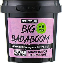 "Parfüm, Parfüméria, kozmetikum Dús hatást biztosító sampon ""Big Badaboom"" - Beauty Jar Shampoo For Hair Volume"