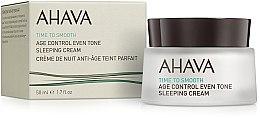 Parfüm, Parfüméria, kozmetikum Éjszakai helyreálító krém - Ahava Age Control Even Tone Sleeping Cream