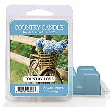 Parfüm, Parfüméria, kozmetikum Aroma viasz - Country Candle Country Love Wax Melts