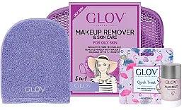 Parfüm, Parfüméria, kozmetikum Szett - Glov Expert Travel Set Oily and Mixed Skin (glove/mini/1pcs + glove/1pcs + stick/40g)