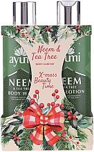Parfüm, Parfüméria, kozmetikum Készlet - Ayumi Neems & Tea Tree (b/lot/250ml + sh/gel/250ml)