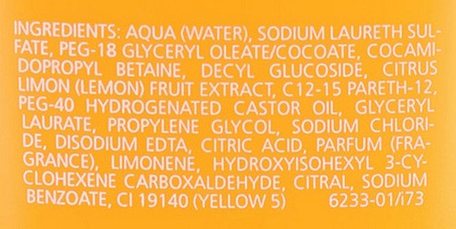 "Frissítő tusfürdő ""Citrus"" - Juvena Body Care Vitalizing Citrus Shower Gel — fotó N3"