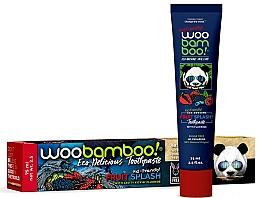 "Parfüm, Parfüméria, kozmetikum Fogkrém ""Gyümölcscsobbanás"" fluoriddal - Woobamboo Fruit Splash Toothpaste With Fluoride"