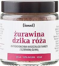 """Parfüm, Parfüméria, kozmetikum """"Vörösáfonya és vadrózsa"""" arcmaszk - Iossi Face Mask"""