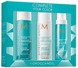 Parfüm, Parfüméria, kozmetikum Szett - Moroccanoil Color Complete (shmp/250ml + h/cond/250ml + h/spr/160ml)