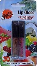 Parfüm, Parfüméria, kozmetikum Készlet - Malibu Lip Gloss SPF30 Set (lip/gloss/2x1.5ml)