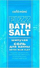 """Parfüm, Parfüméria, kozmetikum Habzó fürdősó """"Detox Blue Clay"""" - Cafe Mimi Fizz Bath Salt"""
