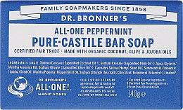 """Parfüm, Parfüméria, kozmetikum Szappan """"Menta"""" - Dr. Bronner's Pure Castile Bar Soap Peppermint"""