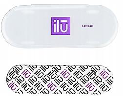 Parfüm, Parfüméria, kozmetikum Körömreszelő, tokban - Ilu Nail File With Case Mini 240/240