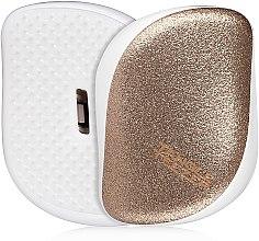 Parfüm, Parfüméria, kozmetikum Kompakt hajkefe - Tangle Teezer Compact Styler Glitter Gold