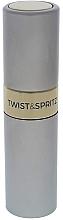 Parfüm, Parfüméria, kozmetikum Prlasztó - Travalo Twist and Spritz Atomiser Silver