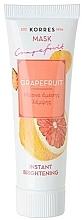 """Parfüm, Parfüméria, kozmetikum Világosító maszk """"Graphefruit"""" - Korres Grapefruit Instant Brightening Mask"""