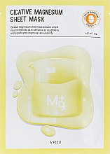 Parfüm, Parfüméria, kozmetikum Gyógyító maszk magnéziummal - A'pieu Cicative Magnesium Sheet Mask